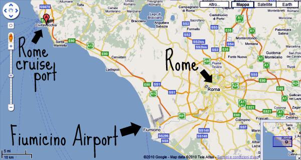 - Port of civitavecchia cruise terminal ...